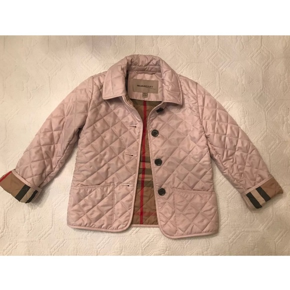 Burberry Jackets Coats Quilted Jacket Girl 10yrs Poshmark